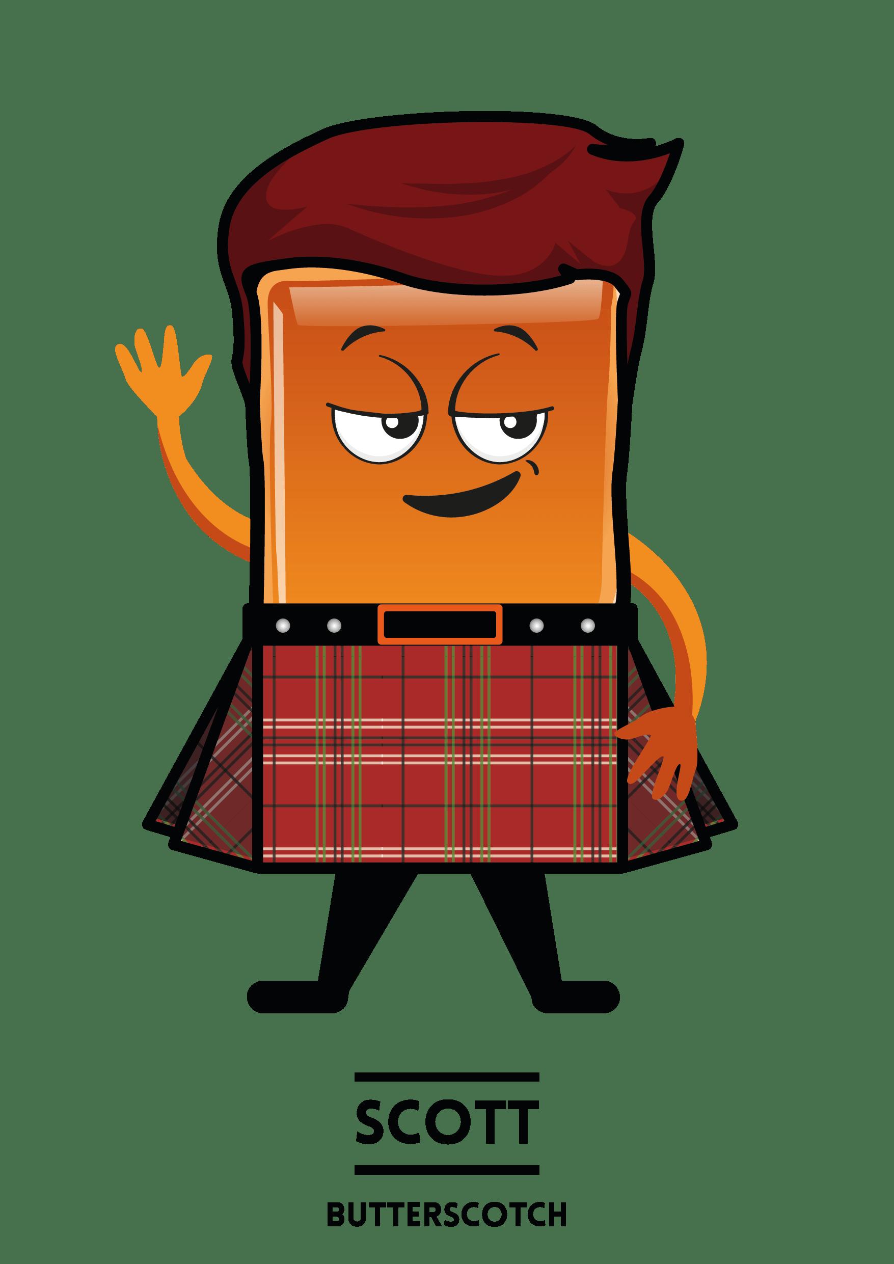 MyShakeStation Characters Butterscotch