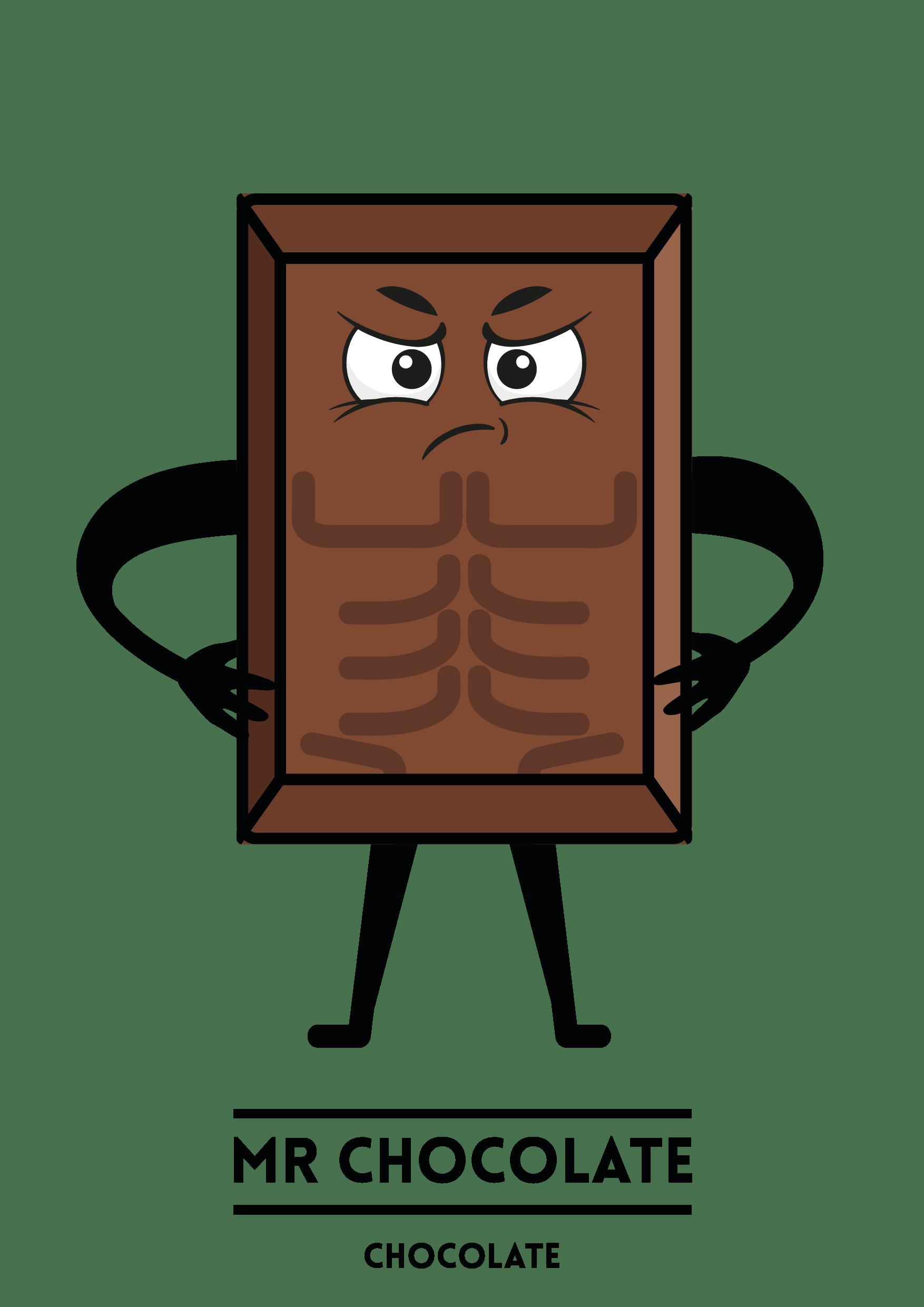 MyShakeStation Characters Chocolate