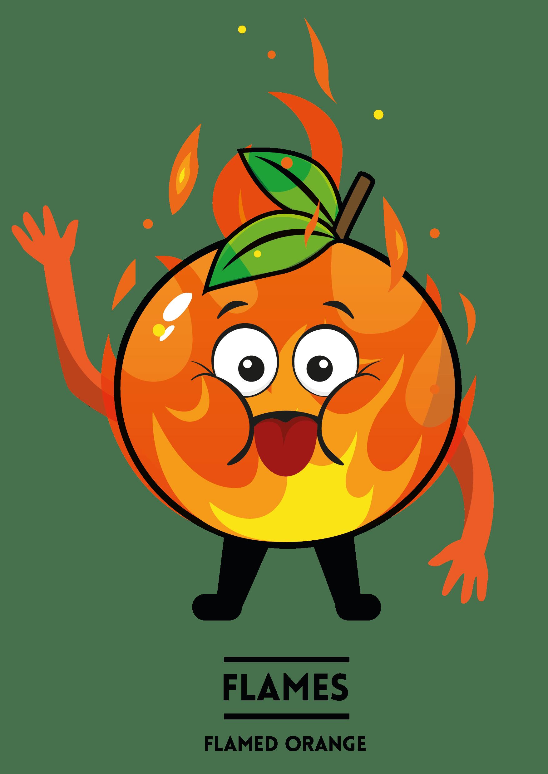 MyShakeStation Characters Orange