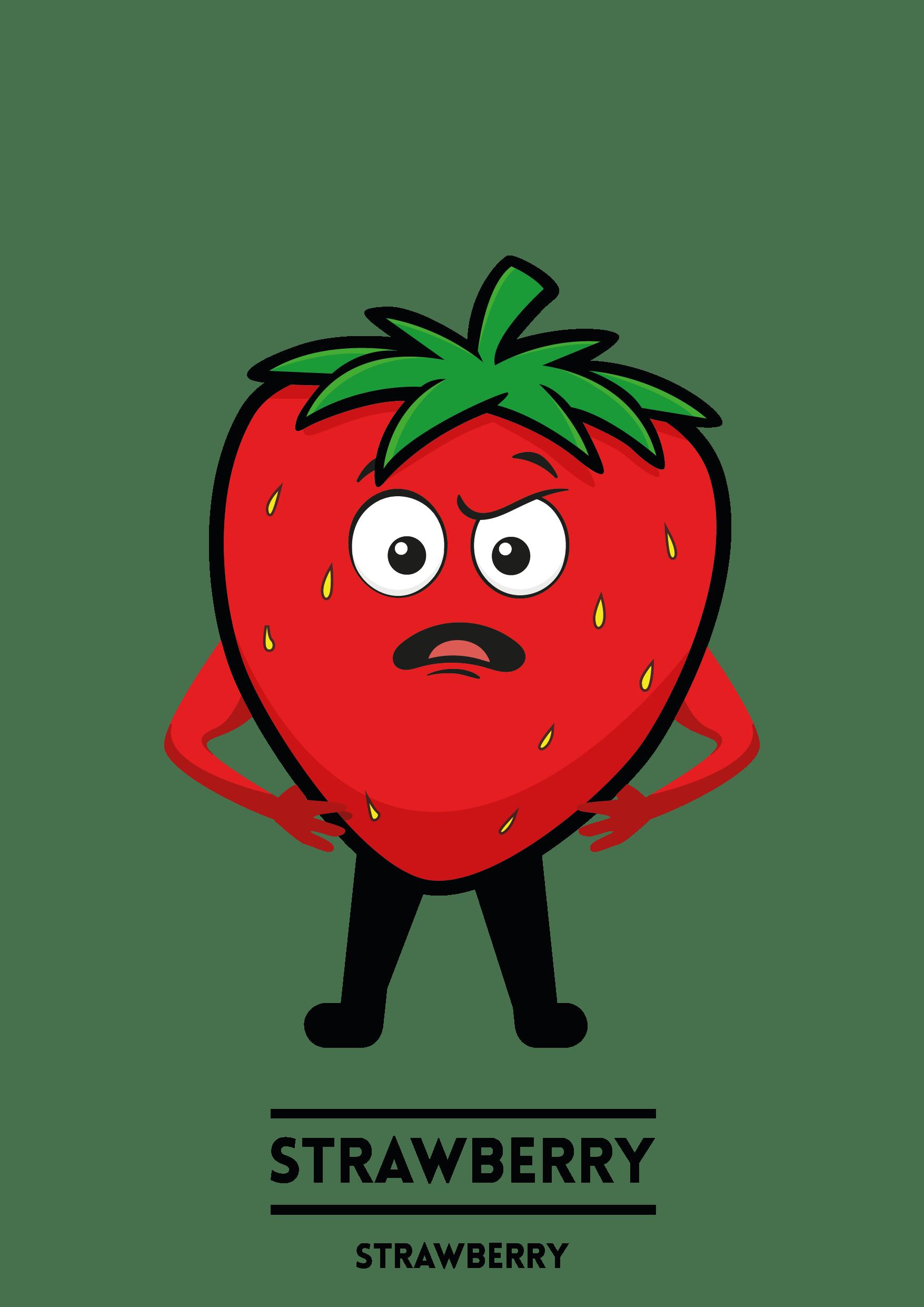MyShakeStation Characters Strawberry
