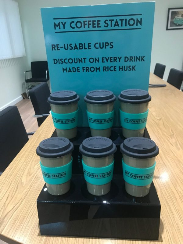 my coffee station reusable cups